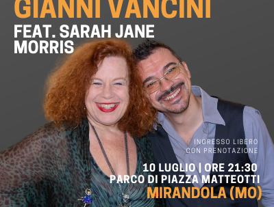 CONFERMATA IMMAGINE QUADRA Sarah Jane Morris Mirandola